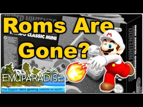 EmuParadise No Longer Hosting Roms // Nintendo's War on Piracy Continues