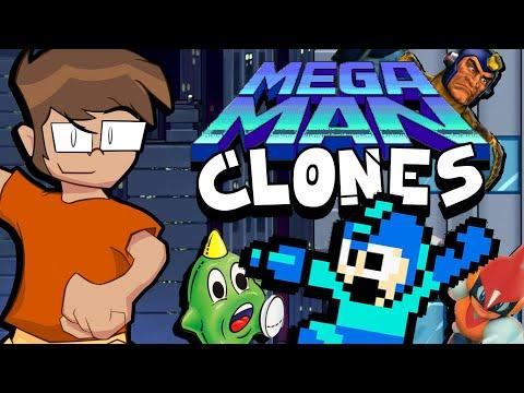 Mega Man Clones (Five Turnips)