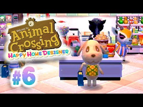 [Ep6] Animal Crossing Happy Home Designer: Construisons un C
