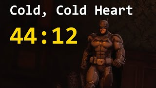 Batman: Arkham Origins Speedrun (Cold, Cold Heart) in 44:12 (PB)