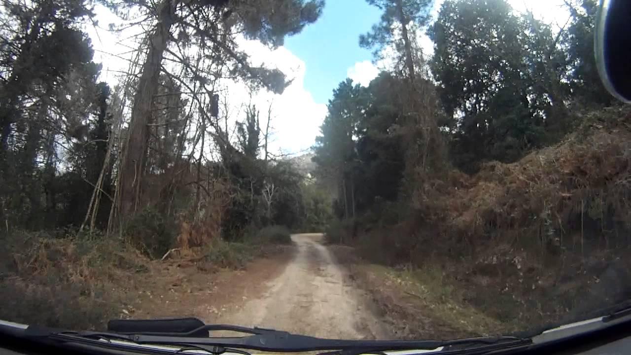 Corsica By Car Levi Barrage De L Ospedale 1 2 Vw Transporter