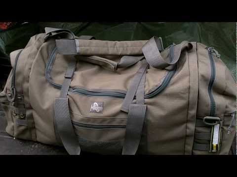 Wildland Fire Red Bag - Maxpedition 3-in-1 Load Out Duffel Bag