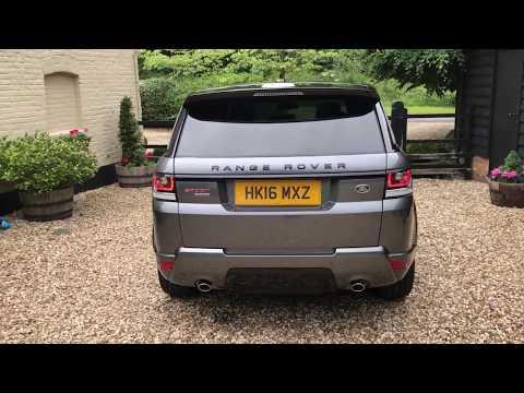 Range Rover Sport SDV6 [306] HSE Stealth Black Pack - FTC Leasing X4/2217