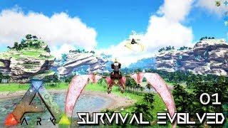 ARK: SURVIVAL EVOLVED: NEW EPIC SERIES BEGINS E01 !!! ( EXTINCTION CORE MODDED )