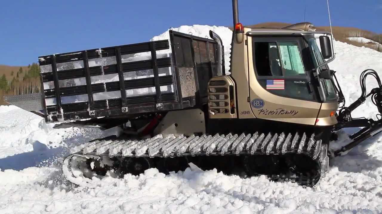 The Snowcat Dump Truck Youtube