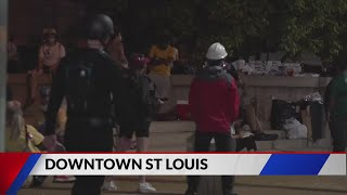 Two city employees attacked by protestors in Downtown St. Louis