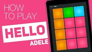 how to play hello adele super pads sorry kit