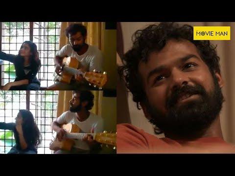 Pranav Mohanlal Playing Guitar At Aadhi Location , Gypsy Women Song