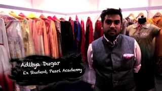 Pearl Academy taught me to be strong for whatever we do- ADITYA DUGAR,Alumnus, Pearl Academy