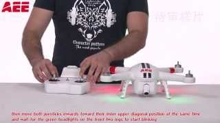 AEE Toruk (quadcopter AP10) - operating instructions