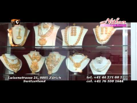 NITHUR Jewellery & Textiles - Zurich; made & broadcasted by TV Cegrani MEDIA