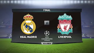 Simulación FTS18: Real Madrid vs Liverpool 26/05/2018 FINAL Champions League 2018