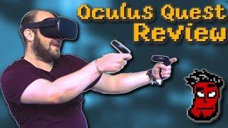 Oculus Quest Review - Die Nintendo Switch der VR-Brillen | Gameplay Test [German Deutsch]