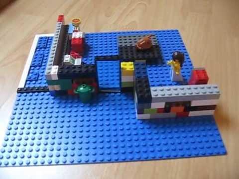 Ma Nouvelle Maison Lego City Avec Piscine Youtube