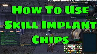 How To Use Skill Implant Chips in Entropia Universe