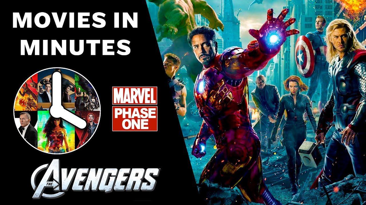 0d3dddc30370 THE AVENGERS in 4 minutes - (Marvel Phase One Recap). Movies in Minutes