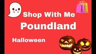 Shop With Me - Poundland - Halloween - Sept