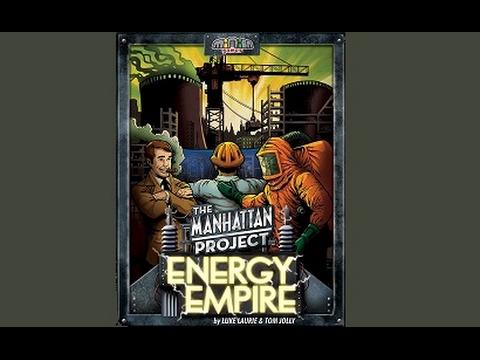 The Manhattan Project Energy Empire - Spielerklärung