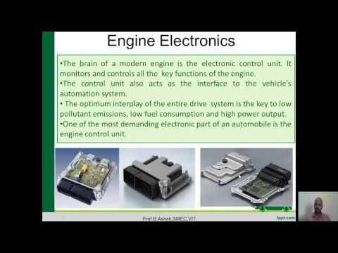 Lecture  2 - Intoduction to Engine Electronics