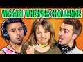 WASABI WHISPER CHALLENGE! (ft. REACT Cast & YOU) | CHALLENGE CHALICE