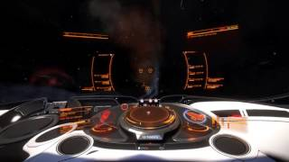 Elite Dangerous - CMDR Denneb - Cutter vs Dangerous Anaconda npc