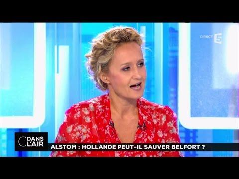 C dans l'air du 13-09-2016 | ALSTOM : HOLLANDE PEUT-IL SAUVER BELFORT ?