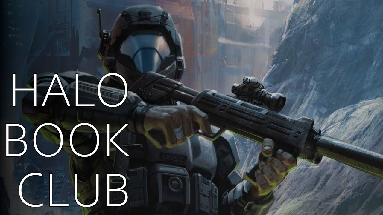 halo book club new blood youtube