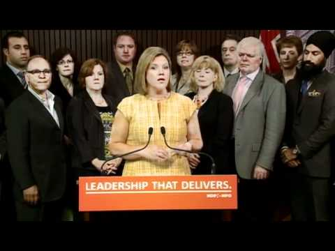 New Democrats improved the budget and made minority government work for the people of Ontario