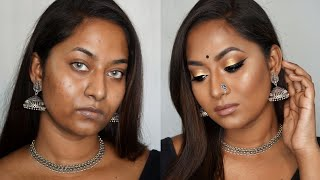 DRAB TO FAB MAKEUP | Sultry Desi makeup look | Beauty Maven