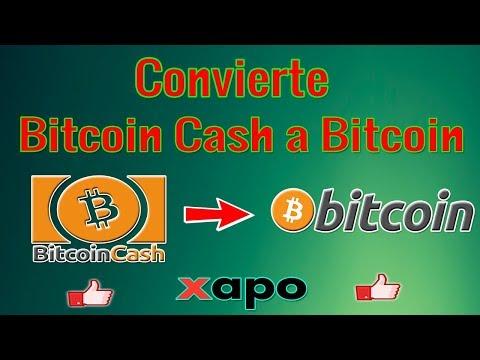 IMPORTANTE Cambia, Envía O Retira Tus Bitcoin Cash A Bitcoin En XAPO Fácil Y Rápido
