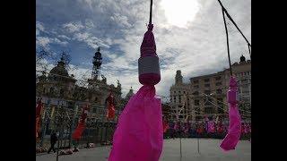 Fallas de Valencia 2018 Mascletà 2 de Marzo 2018 Pirotecnia Zaragozana