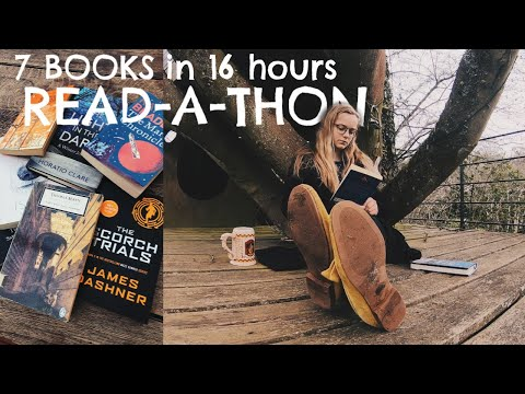 I Read 7 Books In 16 Hours (READ-A-THON)