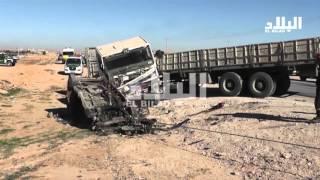 الجلفة: 8 قتلى وجريح في حادث مرور مروع -el bilad tv -