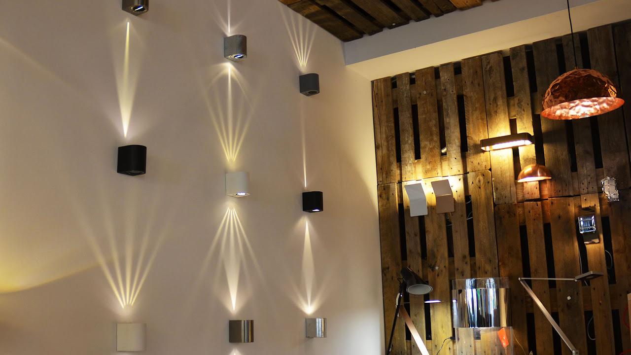 s`luce Radial oder Beak - LED Aussen und Innen Wandleuchte für je ...