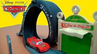DISNEY PIXAR CARS SET DE JUEGO LA VUELTA DE LUIGI UNBOXING & REVIEW