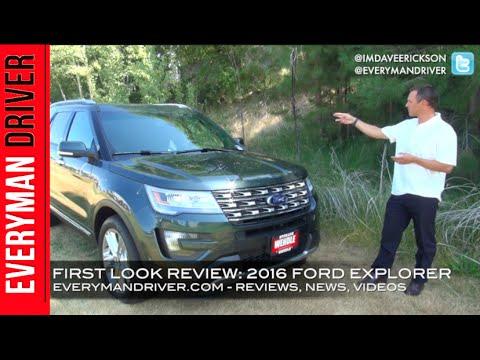 First Review 2016 Ford Explorer on Everyman Driver & First Review: 2016 Ford Explorer on Everyman Driver - YouTube markmcfarlin.com