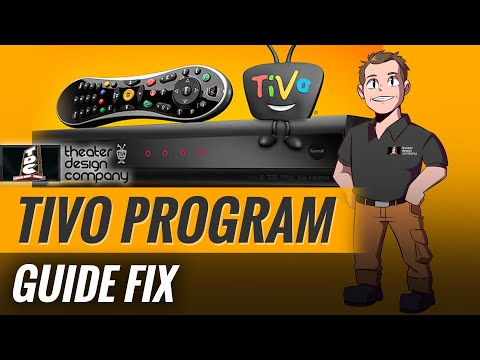 TIVO program guide fix  Channels missing? - YouTube