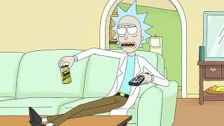 Il diavolo viene preso a calci Rick e Morty