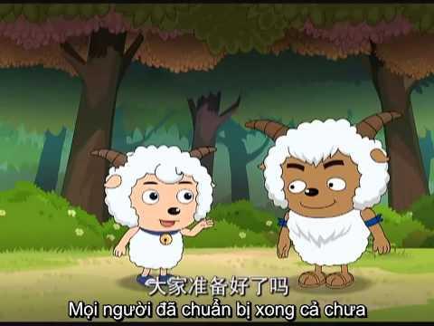 [Vietsub] Cừu vui vẻ và sói xám tập 4: Chuyện tình của anh Thái HD
