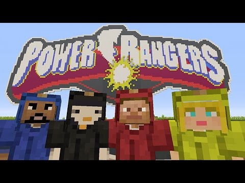 Minecraft Xbox - Murder Mystery - Power Rangers (2017 Movie)