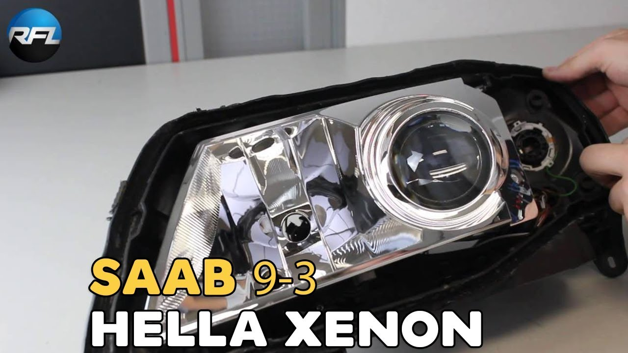 2008 saab 97x headlight bulb replacement
