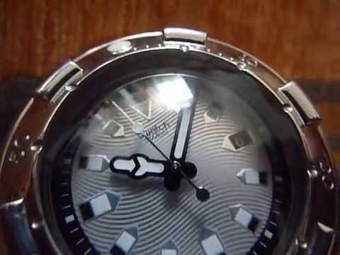 4108bc345a Swatch Irony Scuba 200m - YouTube