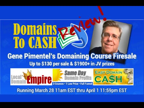 Domain to cash  review
