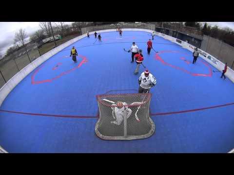 HD Ball Hockey - Outlawz vs Shooters Goal Reel