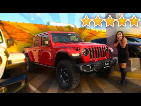 The HOTTEST NEW JEEP! 2020 GLADIATOR RUBICON!