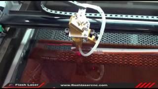 60W laser cut acrylic, acrylic laser engraving and cutting, laser cutter, FL-460