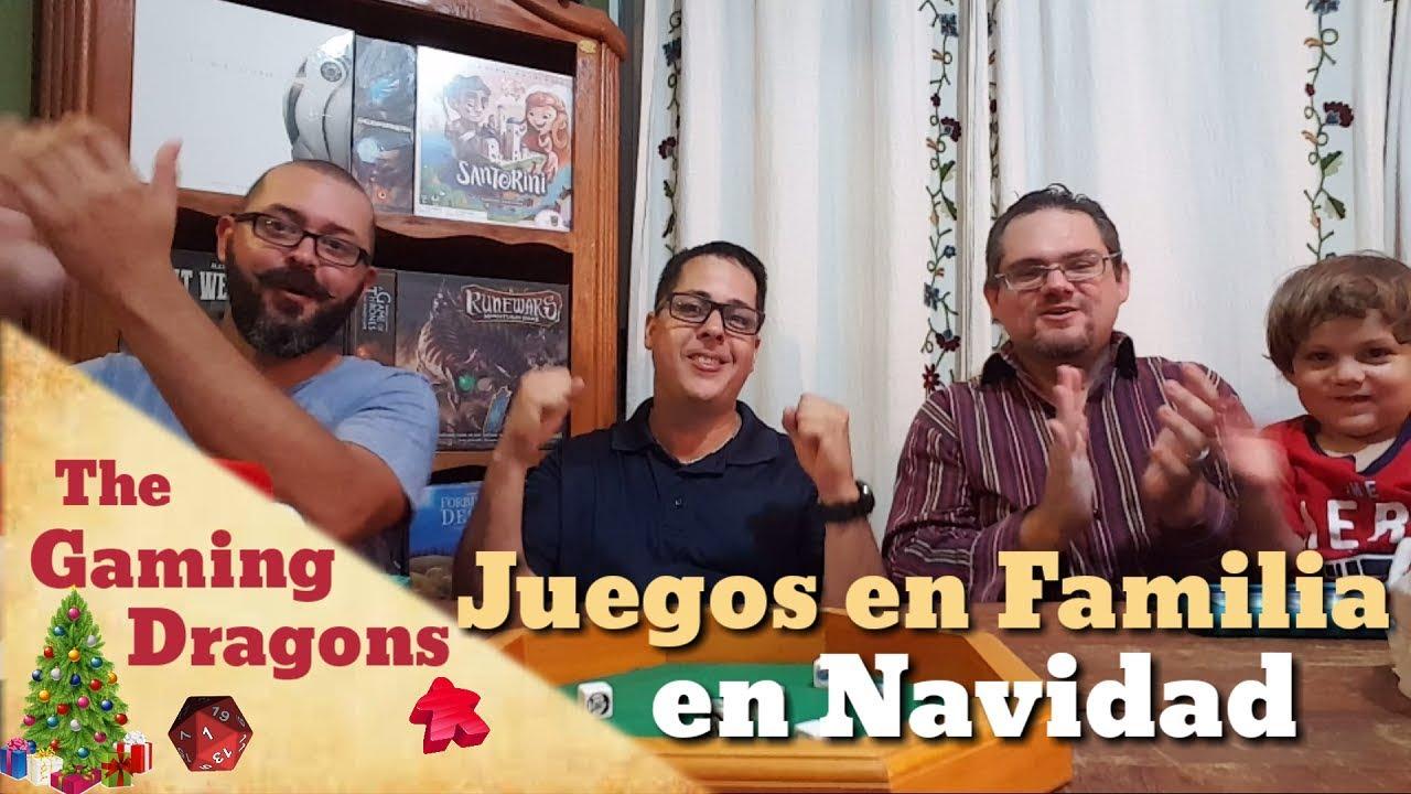 Juegos De Mesa En Familia Para Navidad Youtube