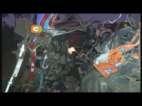 36 perish in a road accident along Nakuru-Eldoret road