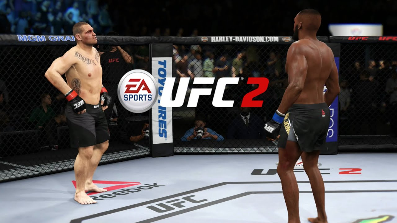 EA UFC 2 - Cain Velasquez Vs Jon Jones CHAMPION VS ... Jon Jones Vs Cain Velasquez
