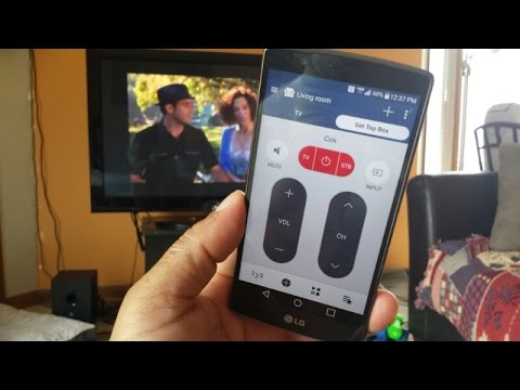 LG G4 - How to Set up IR Blaster Remote